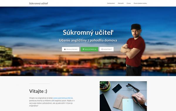 sukromnyucitel.sk 2.0